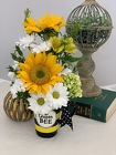 The Mothers Day Queen Bee Mug from Designs by Dennis, florist in Kingfisher, OK