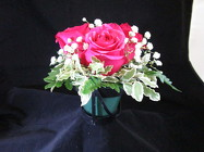 The Delicate Rose Bouquet from Designs by Dennis, florist in Kingfisher, OK