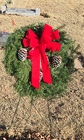 Fresh Evergreen Wreath from Designs by Dennis, florist in Kingfisher, OK