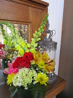 The Bright and Cheerful Bouquet from Designs by Dennis, florist in Kingfisher, OK