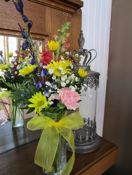 Mixed Budvase Bouquet from Designs by Dennis, florist in Kingfisher, OK