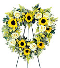 FTD Forever Heart Wreath from Designs by Dennis, florist in Kingfisher, OK
