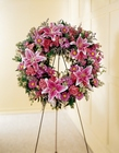 We Fondly Remember Wreath from Designs by Dennis, florist in Kingfisher, OK