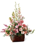 Exquisite Memorial Basket from Designs by Dennis, florist in Kingfisher, OK