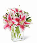 Pink Lily Bouquet from Designs by Dennis, florist in Kingfisher, OK