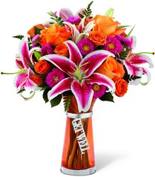 The FTD Get Well Bouquet from Designs by Dennis, florist in Kingfisher, OK
