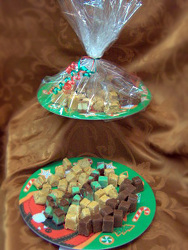 2 Pound Fudge Tray from Designs by Dennis, florist in Kingfisher, OK