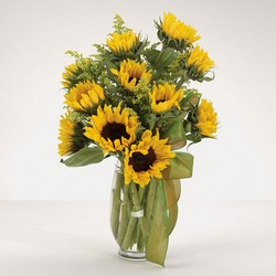 The Sunflower Field Bouquet from Designs by Dennis, florist in Kingfisher, OK