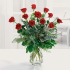 12 Red Roses from Designs by Dennis, florist in Kingfisher, OK