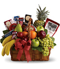 Bon Vivant Gourmet Basket from Designs by Dennis, florist in Kingfisher, OK