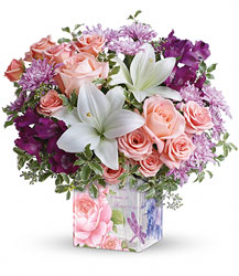 Teleflora's Grand Garden Bouquet from Designs by Dennis, florist in Kingfisher, OK